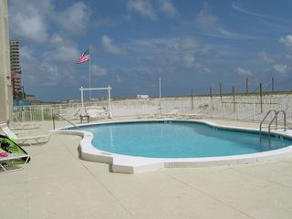 Gulf Shores condo photo - Pool - looking West ground level