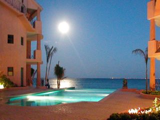 Playa del Carmen condo photo - Moonrise over Luna Encantada