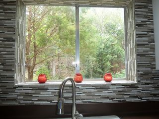 Austin house photo - View of creek/trees from kitchen!