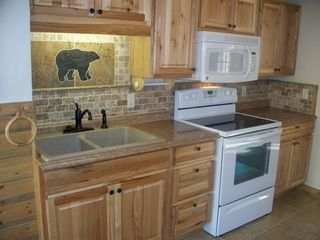 Estes Park cabin photo - Kitchen in 2 bedroom large cabin