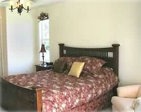 Master suite with King size bed and private bath