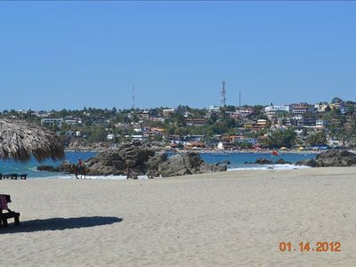 Main Beach at Puerto Escondido