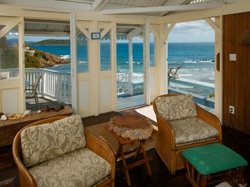 Enjoy ocean breezes from all rooms!