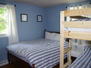Point Judith house photo - Bedroom 1 (double bed / bunk beds) URI Students - only double bed