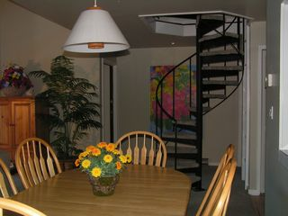 Port Ludlow condo photo - Stairs leading up to loft