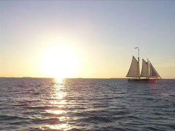 Famous Key West Sunset from Mallary Square