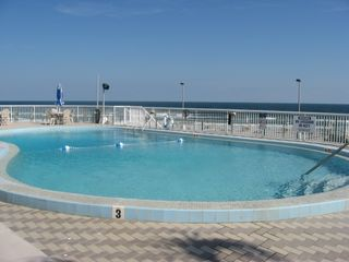 Daytona Beach condo photo - Oceanfront Heated Swimming Pool