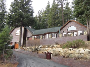 Truckee house rental - Front View of the property.