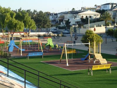 Childrens play area (new Los Balcones Park 2012)