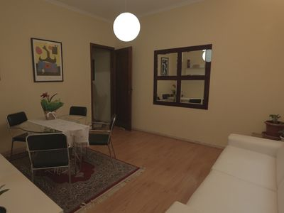 Apt In the center of São Paulo, Furnished, 2 Bedrooms, new, traditional architecture
