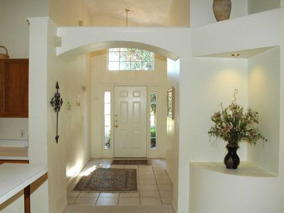 Inviting Front Entrance Foyer