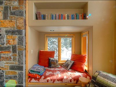 Relax with a Book in the Cozy Window Seat