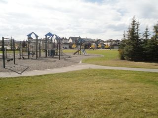 Calgary house photo - There are many green spaces to compliment this residential neighborhood.