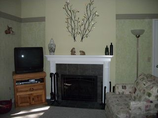 Glen Arbor condo photo - Wood Burning Fireplace
