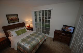 Tampa townhome photo - Bedroom # 3 1 king,LCD-TV, Balcony w. partly view of water way