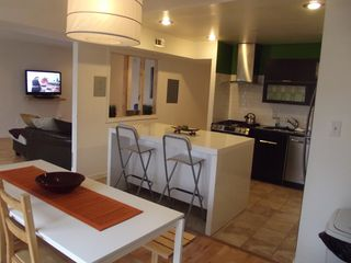 Greenbelt condo photo - Contemporary and Open kitchen