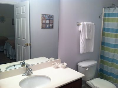 Twin Bathroom w/ hall access