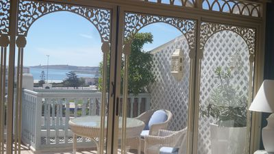 "Rental with seaview, close to the beach and to the local shops - Essaouira - Location ""SAPPHIRE"" 6 persones"