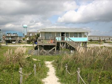 You'll love the privacy, but convenience of this ocean front cottage!