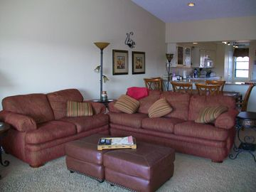 Branson condo rental - Living area
