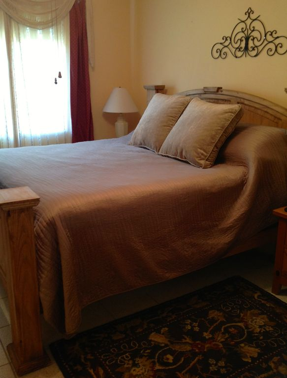 The Master Bedroom includes a Tempurpedic King size bed and luxury linens.
