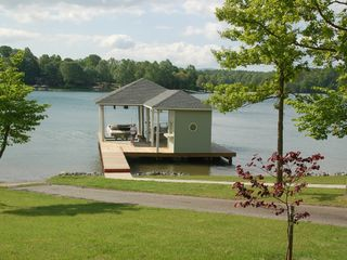 Moneta house photo - boat dock