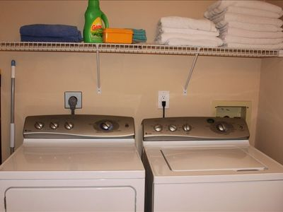 In Suite Washer and Dryer for extra convenience