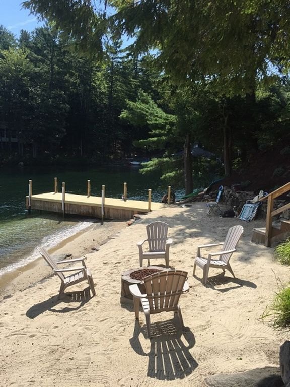 Picturesque Loon Cove Post and Beam