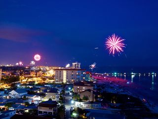 Redington Shores condo photo - View on July 4th, 2013.