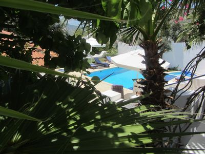 A view of Villa Dreams pool