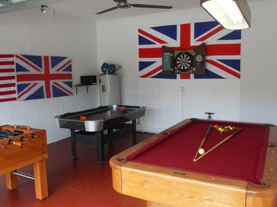 Newly refurbished Games Room