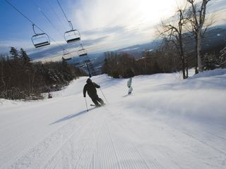 Ludlow house photo - Enjoy a day of downhill skiing at Okemo