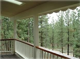 Rear of the property backs to U. S. National Forest Land for privacy.