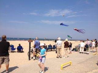 Grand Haven house photo - Kite festivals are the best. (2012)