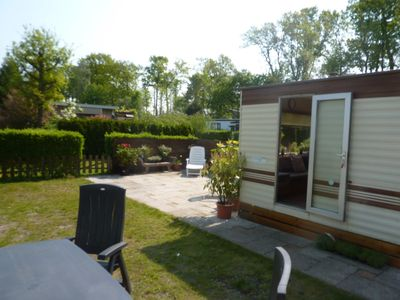 Camping between forest and beaches, ideal for children