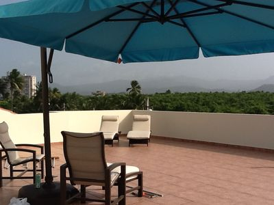 Rooftop Terrace El Yunque View