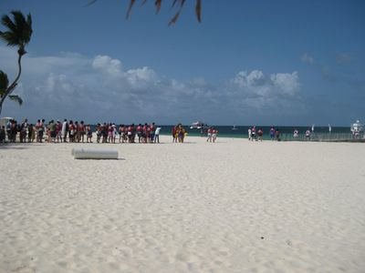 Bavaro condo rental - Excursions(swim with dolphins or stingrays, snorkeling, party boats) next door