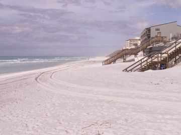 Our Favorite Spot on Our Beach - sugar white sand which goes on for miles