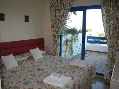 La Duquesa apartment rental - Main Bedroom with doors leading to Terrace