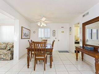 Flagler Beach house photo - The spacious and light-filled dining room.