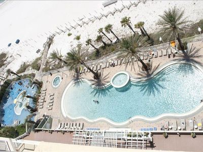 Condo Heated Pool and Kiddie Pool