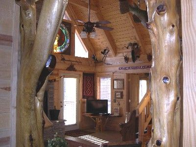 A Log Cabin is So Relaxing
