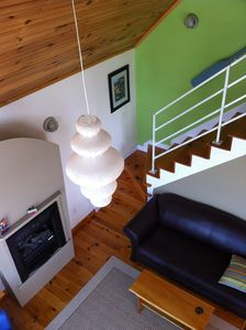 Darnley cottage rental - Staircase in the green