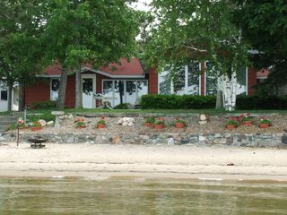 Lake City cottage photo - We include beach toys, chairs and towels.