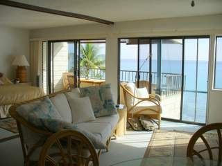 Kailua Kona condo photo - Large living room