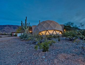 Laveen house rental - Dome at dusk