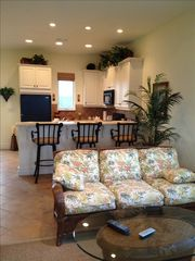 Grand Bahama Island house photo - Kitchen and family room