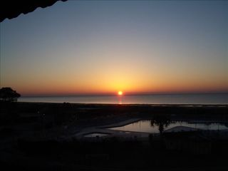 Folly Field condo photo - Hilton Head Island ~ Sunrise over the Atlantic Ocean from the balcony