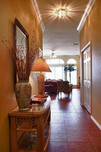 North Padre Island house rental - Entry Hall way - Jason Page Photo