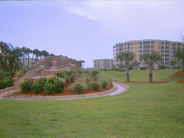 Ponce Inlet condo rental - Entrance to Harbour Village Golf and Yacht Club - Ponce Inlet, Fl